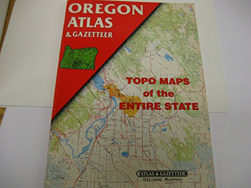 Oregon Atlas and Gazetteer: Topo Maps of the Entire (Vintage Road Map)