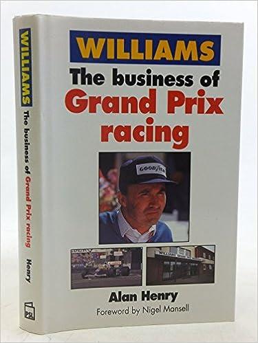 Book Williams: Business of Grand Prix Racing