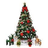 XF Christmas Tree - Christmas Decorations Pine Needle Christmas Tree Mall Window Decoration Tree Christmas Scene Decoration // (Color : 1)