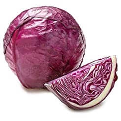 Organic Red Cabbage, One Head