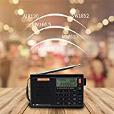 SIHUADON R-108 Radio AM FM SW LW AIR Band DSP Full