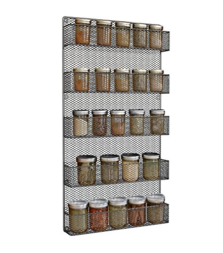 spice rack wall mounted - 9