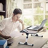 Adjustable Laptop Desk Table for Bed, Foldable