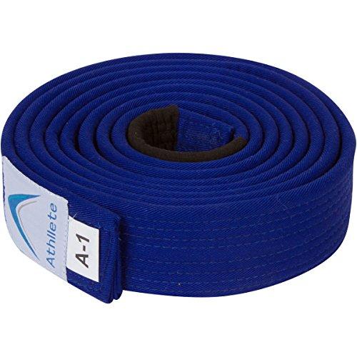Blue Belt Jiu Jitsu - Athllete Jiu Jitsu Belts (Blue, A3)
