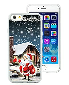 Design for Mass Customization iPhone 6 Case,Santa Claus White iPhone 6 4.7 Inch TPU Case 15