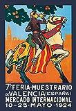 Buyenlarge 7A. Feria-Muestrario De Valencia Espana 1924 by Dub Wall Decal, 48'' H x 32'' W