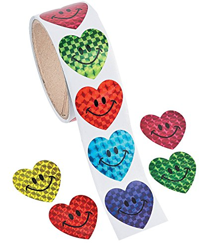 Fun Express 9 617 Smiley Stickers