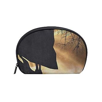 Amazon.com: Bolsa pequeña para cosméticos, bolsa de belleza ...