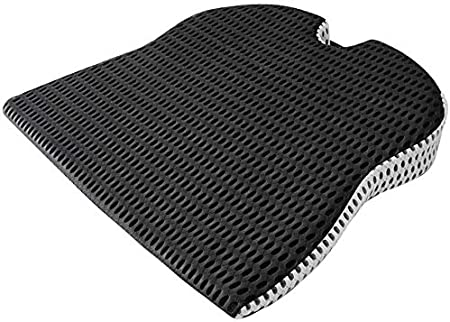 Cojín del asiento de la cuña del automóvil para el asiento del conductor del automóvil Silla de oficina Sillas de ruedas Cojín del asiento de espuma viscoelás