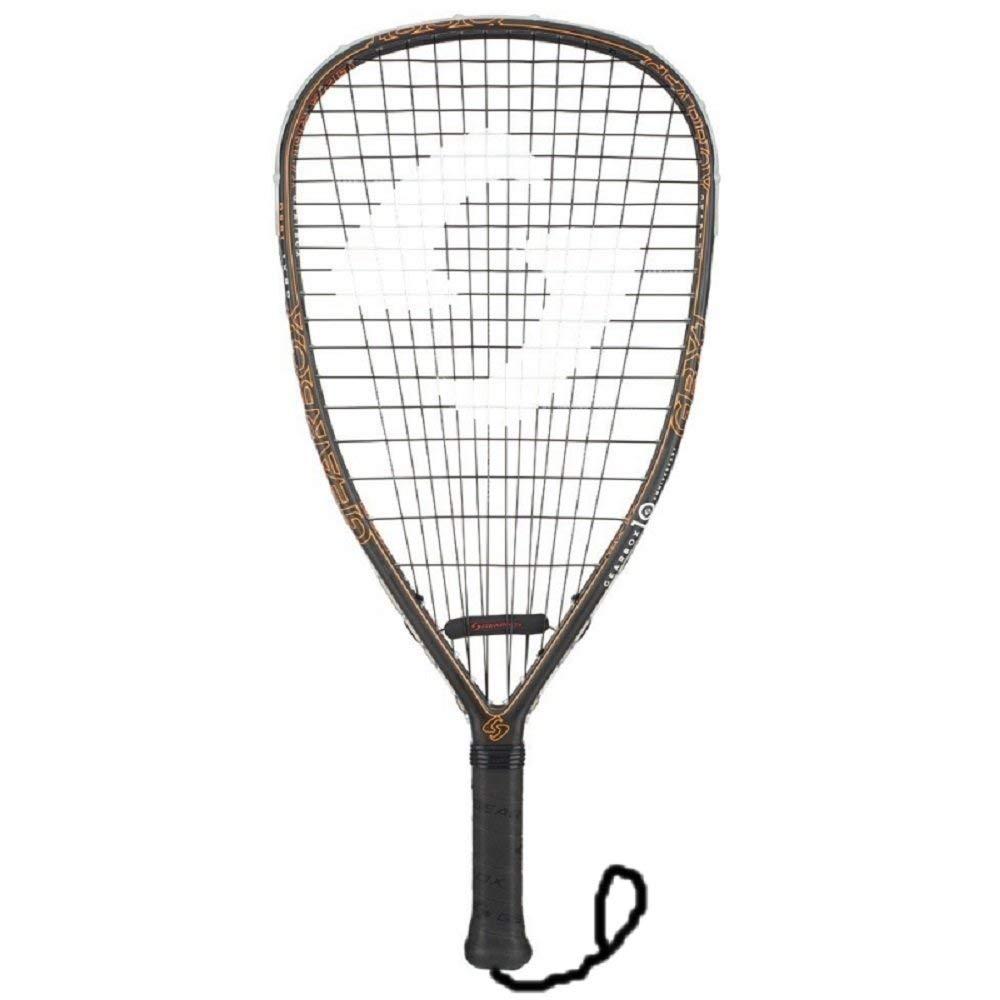Gearbox GBX1 165 Quad Orange Anniversary Racquetball Racquet, 3-15/16 Inch Grip