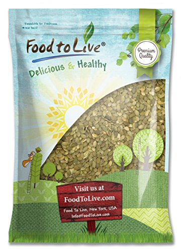 Pepitas/Pumpkin Seeds by Food to Live (Raw, No Shell, Kosher) - 8 Pounds