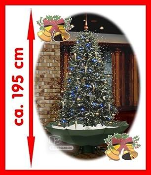 Schneiender Weihnachtsbaum.Amazon De Schneiender Weihnachtsbaum Mit Musik 195 Cm Hoch