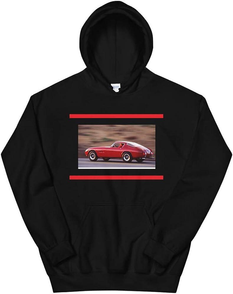 1959 Chevy Corvette Classic Race car Unisex Hoodie Black