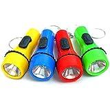 Pumpkinkaariage 12 Pièces lampe de poche LED porte-clés cadeaux d'argent de poche porte-clé