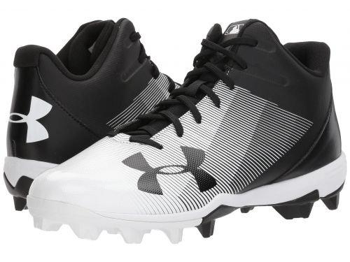 Under Armour(アンダーアーマー) メンズ 男性用 シューズ 靴 スニーカー 運動靴 UA Leadoff Mid RM Black/White [並行輸入品] B07BKPZGHB9 D Medium