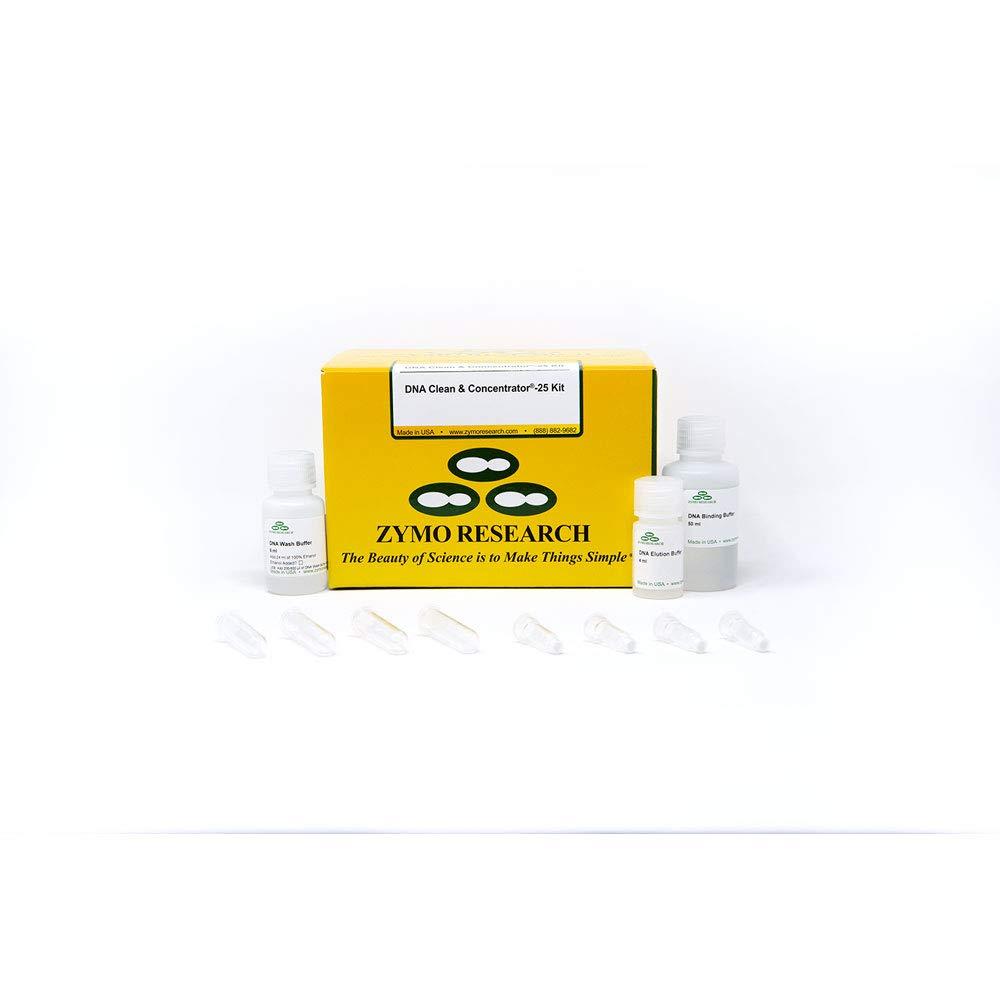 DNA Clean & Concentrator-25, Uncapped Columns, PCR Purification Kit (25µg), 50 Preps/Unit