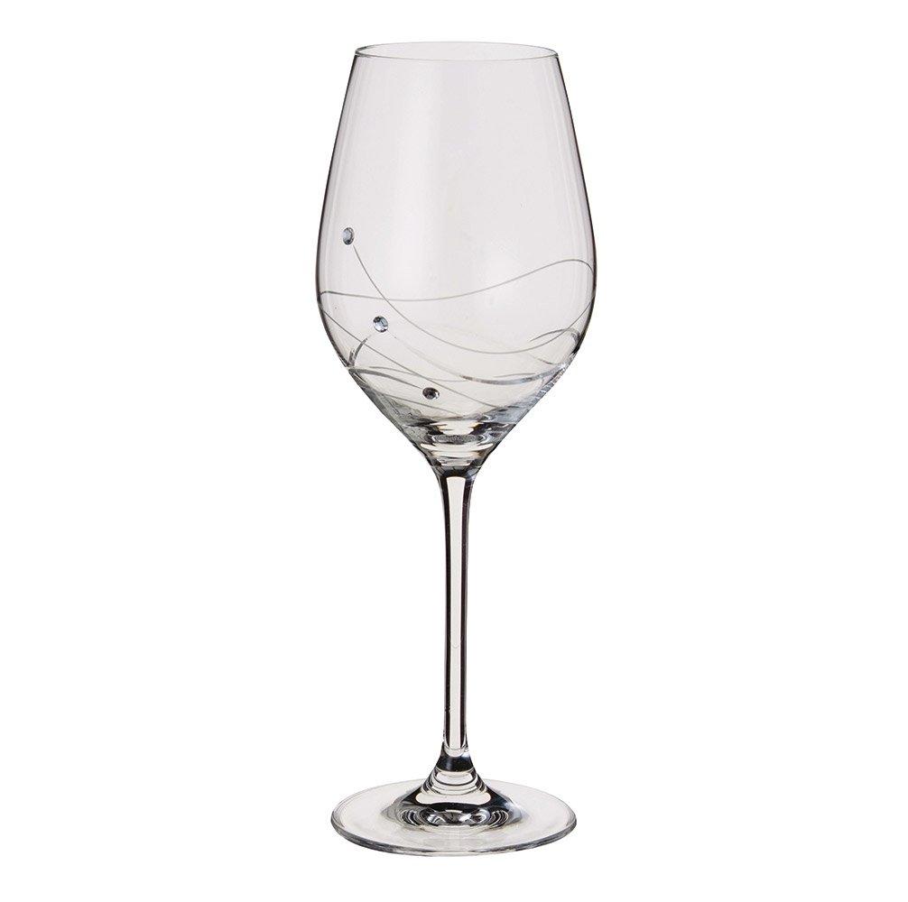 Dartington Crystal Glitz Wine Glasses ST2557/3/P