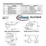 Infineon Technologies LL2705 MOSFET 55V, 3.8A