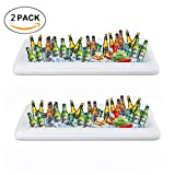 inflatable soda - SMAGREHO Inflatable Buffet and Salad Serving Bar With Drain Plug(2 pcs)