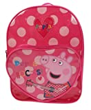 Peppa Pig Rocks Heart Pocket Backpack