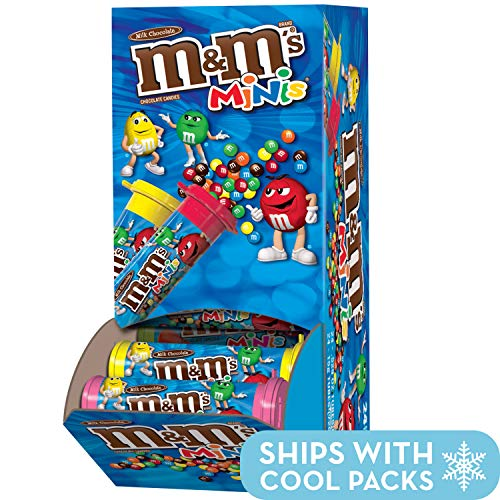 M&M's Milk Chocolate Mini's, 1.08-Ounce Tubes (Pack of 24)]()