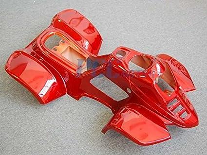 Amazon com: 9L BODY PLASTIC FENDER 50cc 70cc 90cc 110cc ATV