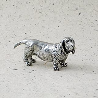 product image for DANFORTH - Basset Hound - Pewter Figurine - 2 1/4 Inches - Handcrafted - Made in USA