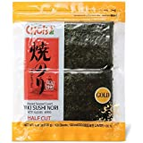 Daechun Roasted Seaweed, GIM, (100 Half Sheets), Resealable, Gold Grade, Product of Korea