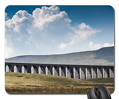 (Mouse Pad - Ribblehead Viaduct Railroad Tracks Landscape)