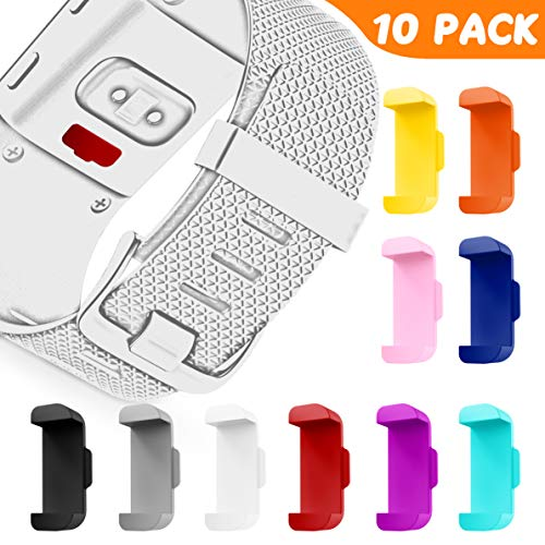 GELISHI Compatible with Fitbit Surge Smartwatch Accessary, 10 Packs Sweat Resistant and Anti-dust Plugs for Fitbit Surge Smartwatch(No Tracker)