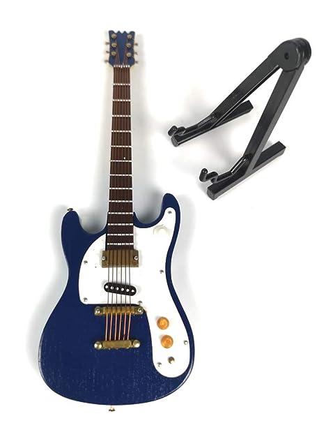 Apolo Guitarra eléctrica, miniinstrumento Modelo Miniatura de casa ...