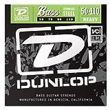 Dunlop DBS50110 Stainless Steel Bass Strings, Heavy, .050–.110, 4 Strings/Set