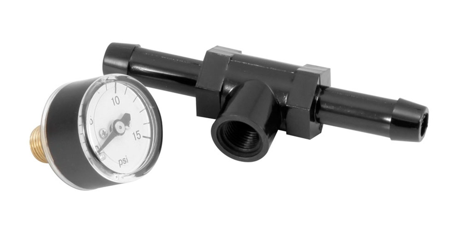 Spectre Performance 59013 Fuel Pressure Gauge with Fitting by Spectre Performance