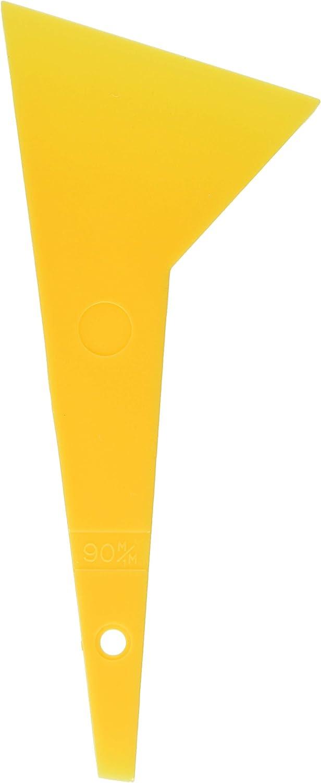 BIGMAN(ビッグマン) プラスチックヘラ オレンジ90mm PH-22