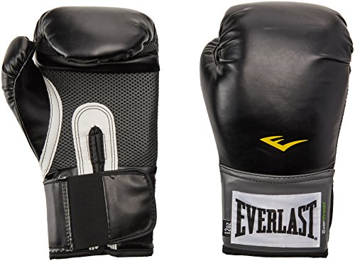 Headgear Gloves Boxing (Everlast Pro Style Training Gloves (Black, 16 oz.))