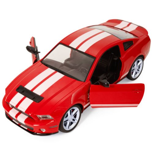 1/14 Ford Mustang Shelby GT500 Radio Remote Control RC Model Car Red New by Unbranded*