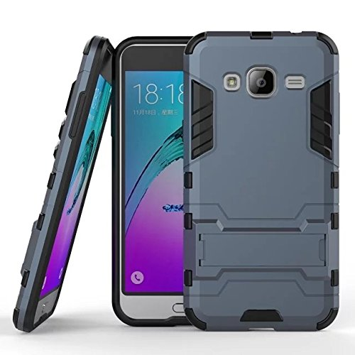 Cover for Samsung Galaxy J3 2016 Case Shell Hybrid Hard Iron Man Armor Defender Silicone Case for Samsung J3 J320 Case Cover Shell Coque Capa