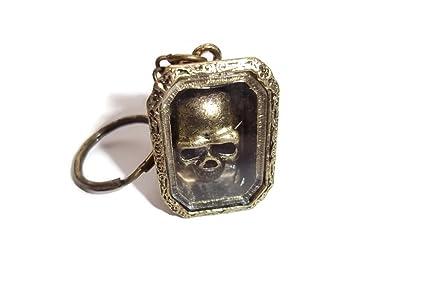 Halo accessoreis Skull In Box - Llavero Mujer marrón Bronze ...