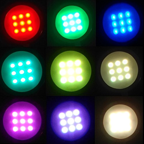 Aiboo Rgb Color Changing Led Under Cabinet Lights Kit