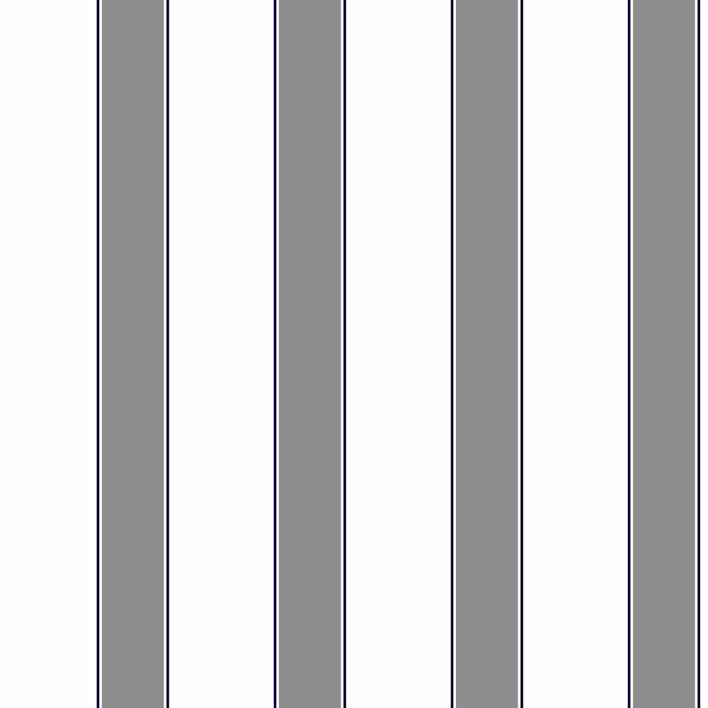 Blacks//Whites York Wallcoverings ZB3418SMP Boys Will Be Boys II Wide Stripe Pinstripe 8-Inch x 10-Inch Memo Sample Wallpaper