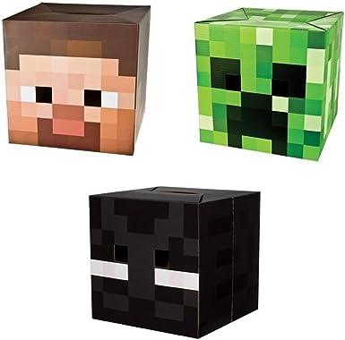 Oficial Exclusivo de Minecraft Steve, Creeper & Máscara de Disfraz ...