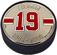 Medallion Puck - Detriot Red Wings 19 S.Yzerman Years