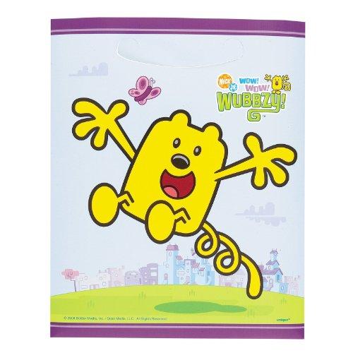 Wow! Wow! Wubbzy! Treat Bags (8