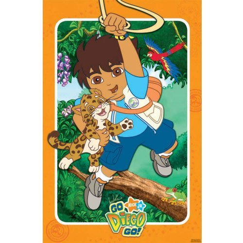Go Diego Go Party Large Game]()
