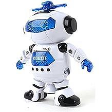 [Patrocinado] lilpals Live Action Robot Bailarín–Reproduce música de juguetes, paseos, gira, bailes y emite Awesome Luz & Sonido