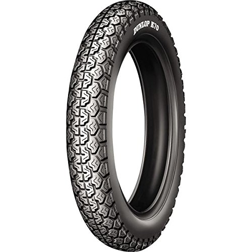Dunlop Vintage K70 Tire - Front - 3.50-19 , Tire Type: Street, Tire Construction: Bias, Position: Front, Rim Size: 19, Tire Size: 3.50-19, Speed Rating: P, Load Rating: 57, Tire Application: Sport 420225 by Dunlop Tires
