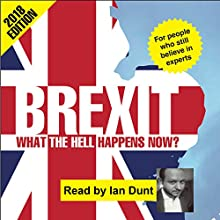 Brexit: What the Hell Happens Now?: 2018 Edition Audiobook by Ian Dunt Narrated by Ian Dunt