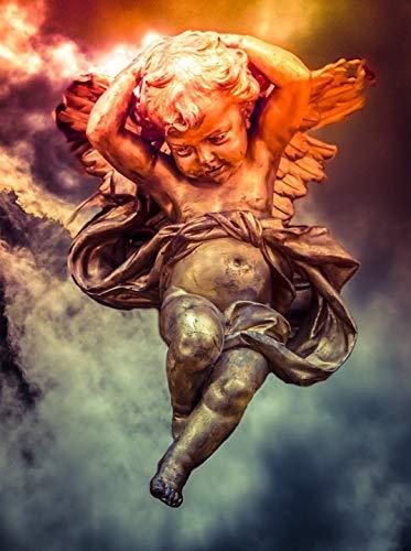 Flying Cherub - Home Comforts Laminated Poster Seraphim Cherub Fantasy Celestial Cherubim Flying Vivid Imagery Poster Print 24 x 36