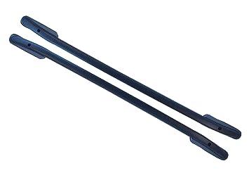 Demon 4x4 Matte Black Aluminium Roof Rails Bars Pair for Range Rover Sport 05-13 VY57129