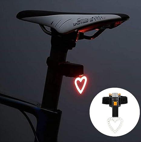 Nabowei luz Trasera Bicicleta roja, Luz LED Trasera de Bicicleta ...